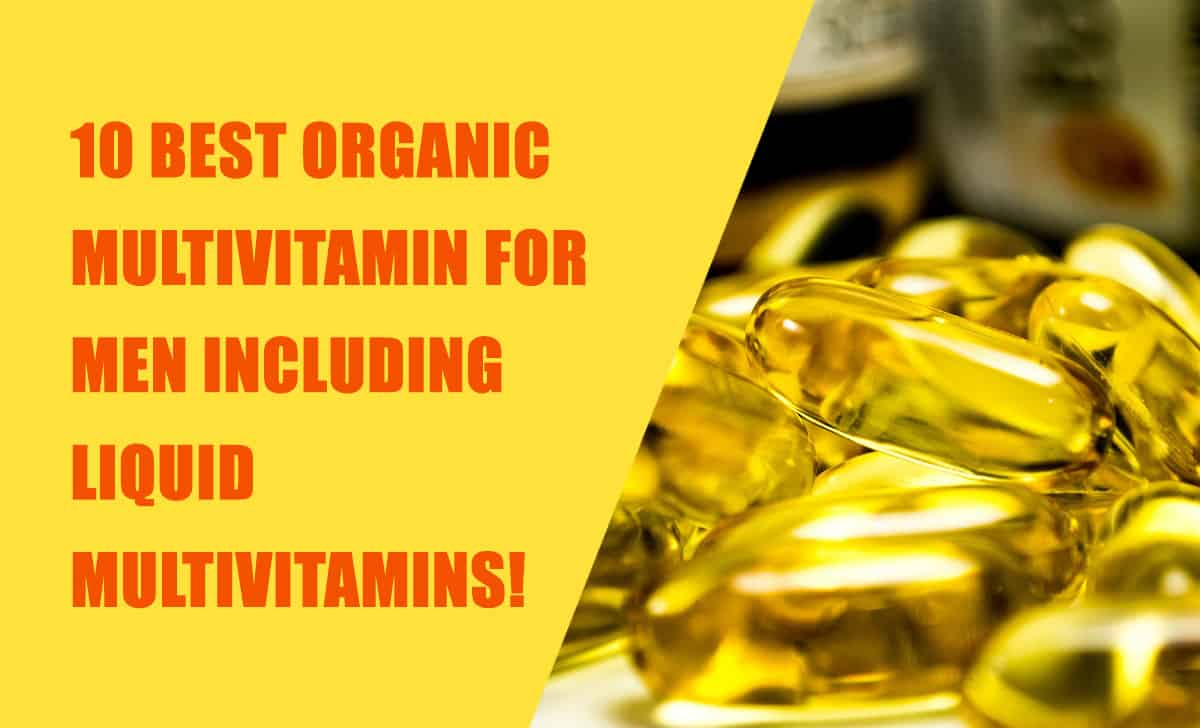 best organic multivitamin for men