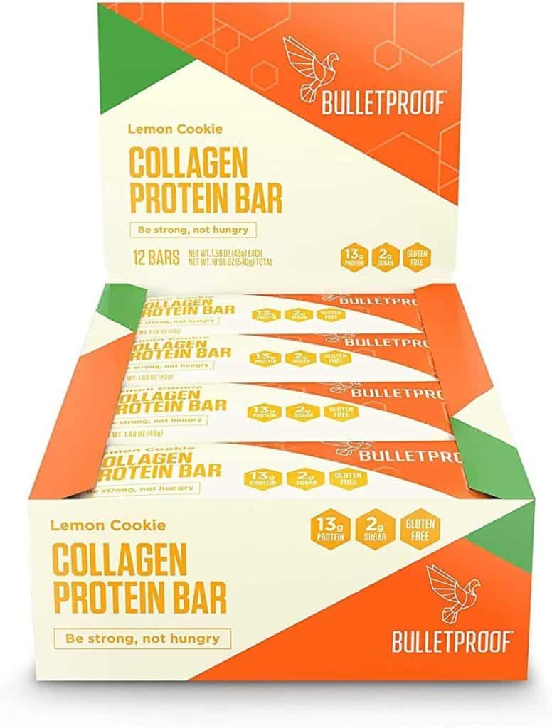 Bulletproof - low carb protein bars