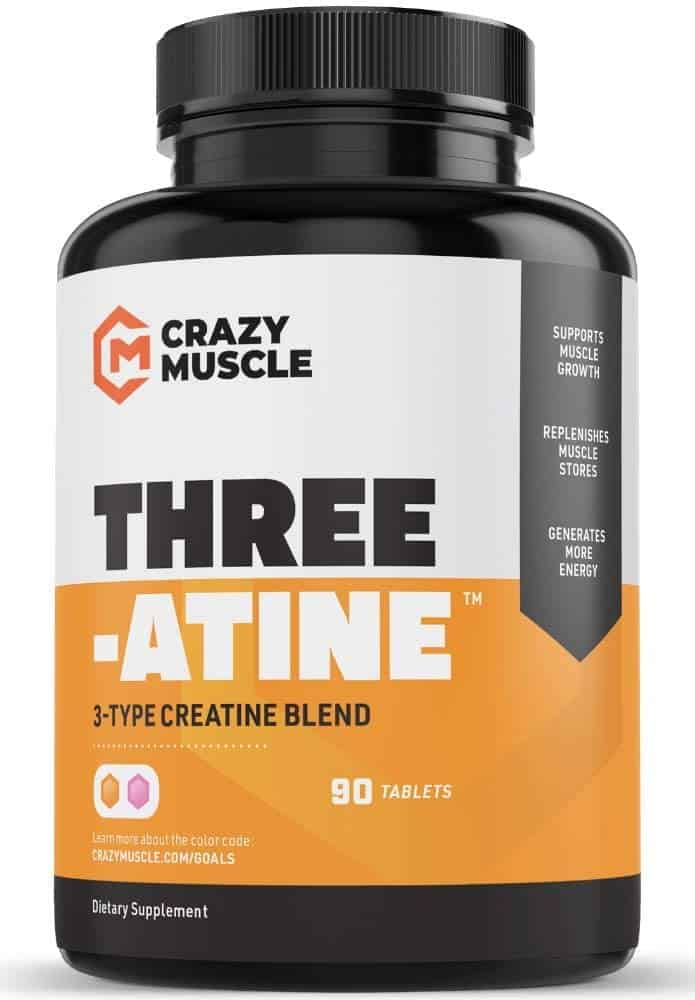 Crazy Muscle - Best weight gain pills