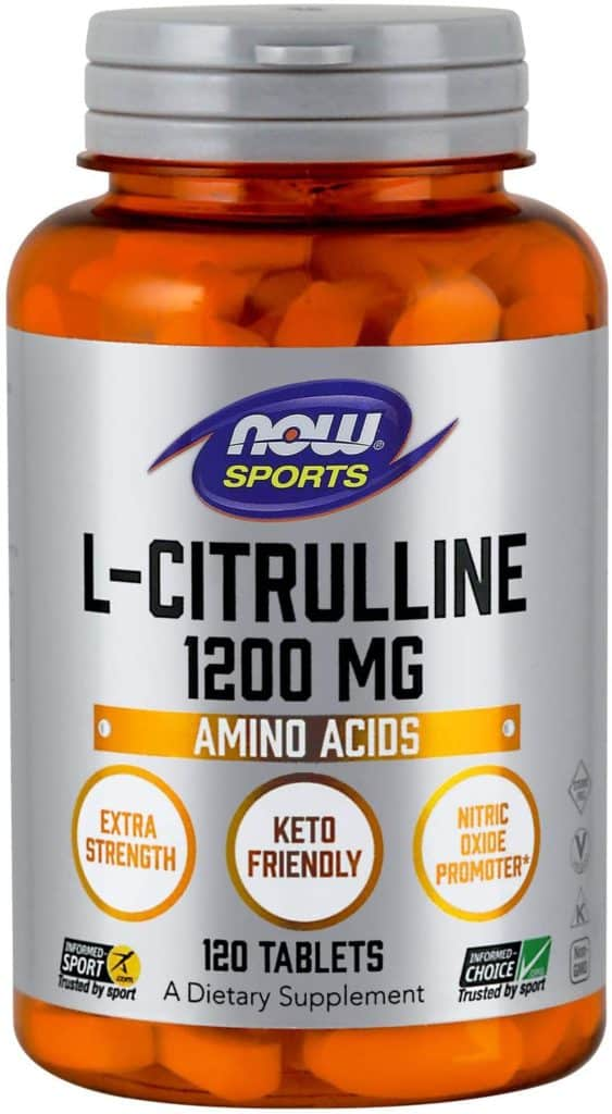 NOW® L-Citrulline - Best weight gain pills