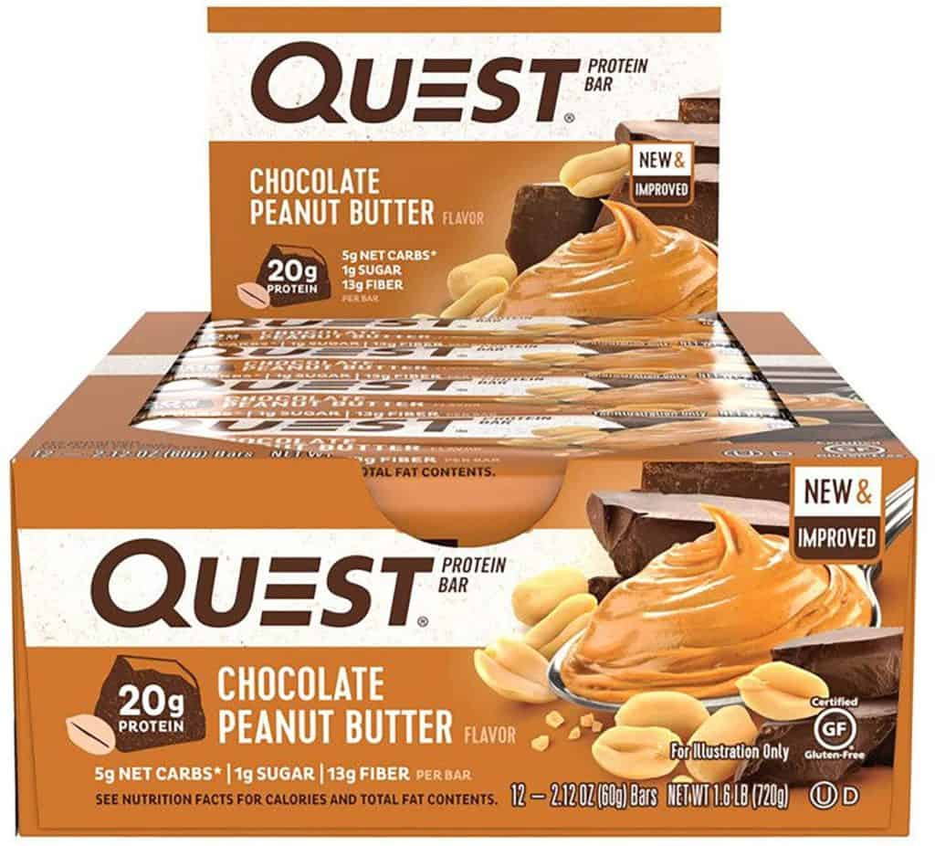 Quest low carb protein bars