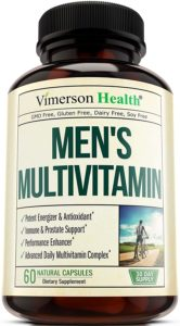 Men's Daily Multimineral Multivitamin Supplement- best organic multivitamin for men