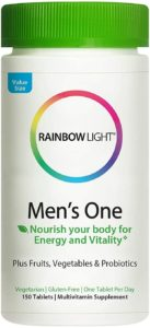 Rainbow Light Multivitamin For Men - best organic multivitamin for men