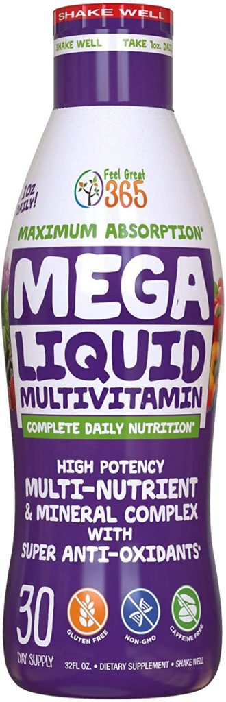 best organic multivitamin for men - Feel Great 365 MEGA Multivitamin 150