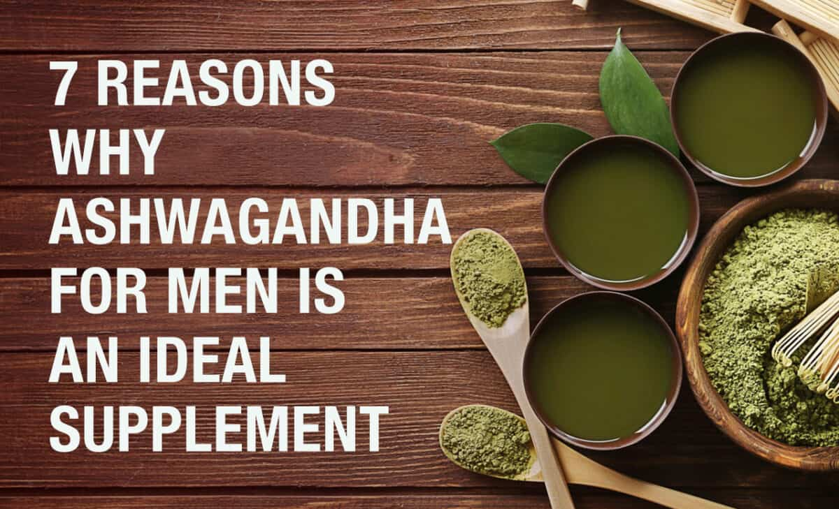 ashwagandha for men - The Manly Things